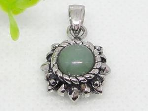 China semi precious stone pendant 1240002 on sale