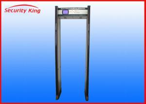 China underwater metal detector door frame metal detector security metal detectors with 45 zones on sale