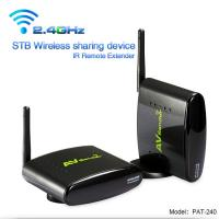 PAKITE 2.4GHz 250 Meter Transmit Distance Wireless Audio Video Transmitter Sender with IR Remote Control