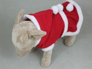 China Cotton and polyester Christmas dog clothes x small pet costumes for large dogs on sale