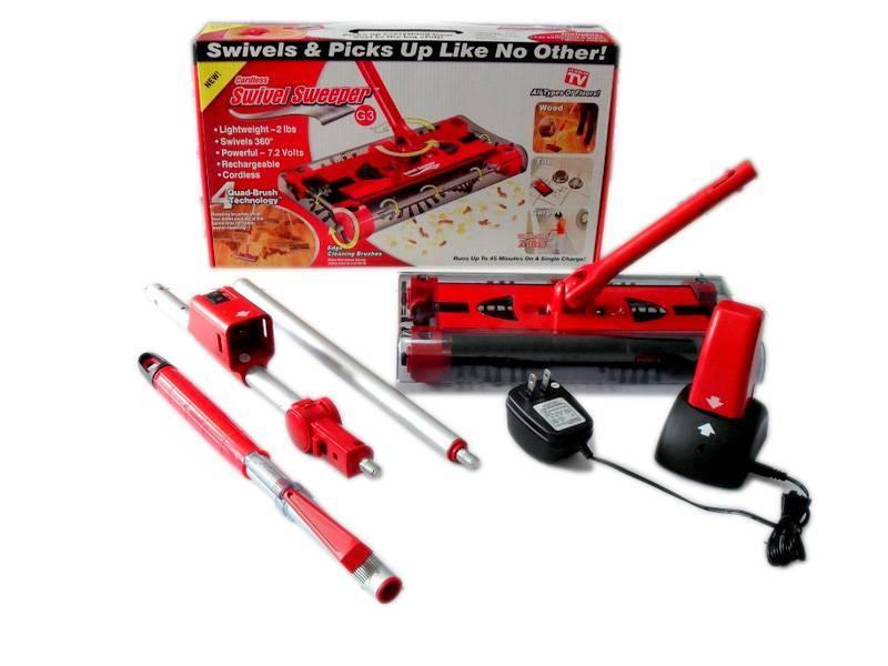 Factory Price Swivel Sweeper G3 Cordless Motorised
