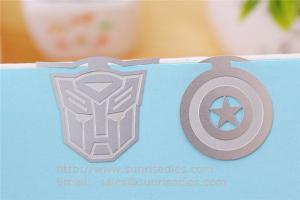 China Etched Engraved Metal bookmark maker China for engraved etching steel bookmarks on sale