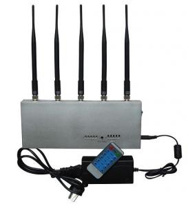 Quality CDMA Mobie Phone Remote Control Jammer / Blocker EST-505E For Custom for sale