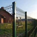 3d Welded Wire Mesh FencePanel / GardenFence for Residential