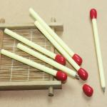 Matches shape ball point pen for advertisment