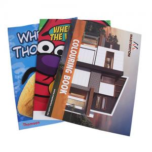 China Marketing Small Booklet Printing , Catalog Printing Services Low Cost on sale