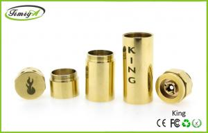 China Golden Mechanical Mod E Cig Ego Thread , Big Vapors Atomizer 4.5ml CE RoHS on sale