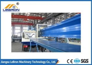 China Many kinds of colors durable K Profile Large Span 600-305 type K Span Roof Panel Roll Forming Machine on sale