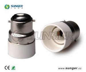China B22 to E14 lamp base adapter on sale