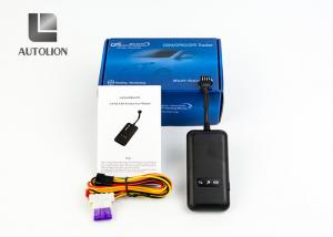 China OEM ODM Mini Auto Gps Tracker , Real Time Gps Vehicle Tracking System Black Color on sale