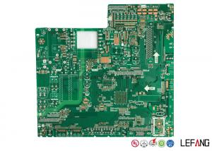 China 1.6 MM Fr4 High TG170 PCB High TG PCB , Security Lcd Display PCB Practice Board on sale