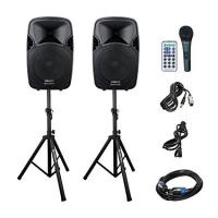 China Outdoor Active Speaker System CD-25 driver with SD Card Reader / FM Radio on sale