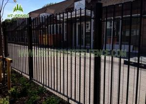 China Hot Dipped Galvanized 358 High Security Fence Heavy Duty For Oil Storage on sale