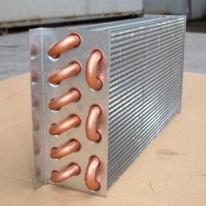 Quality Oem Aluminium Fin Type Water Cooled Copper Heat Exchanger For Air
