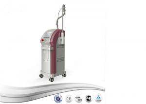 China 20-30NM Pulse Width Q Switched Nd Yag Laser Tattoo Removal Machine Red Pink White on sale