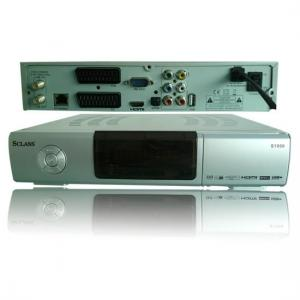 China High Definition Mpeg4 satellite receiver sclass s1000 on sale