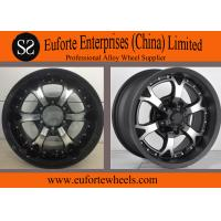 China Strong Spokes SUV 16 x 8 off road wheels , 15 Inch Alloy Wheels on sale