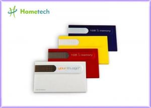 China 8GB Plastic Credit Card USB Storage Device File Transfer for School on sale