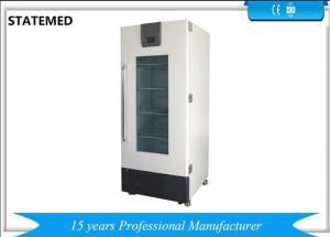 China Digital Panel Vertical Medical Laboratory Refrigerator 2-15 Degree For Blood Storage 220v 50hz on sale
