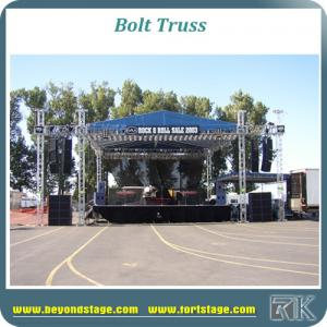 China RK outdoor event bolt truss dome for concert, dj, wedding, trade show portable truss dome with aluminum truss for light on sale