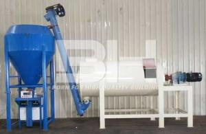 China High Efficiency Wall Putty Mixing Machine / Skim Coat Manufacturing Plant on sale