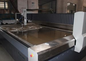 China Automated Stainless Steel Water Jet Cutting Machine No Mechanical Stresses on sale