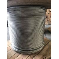 Zinc Coated 1x19 Galvanized Steel Wire Strand 5.00-19.00MM For Make Stay Wire