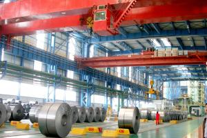China Customized Galvanized Steel Coil , Galvanized Sheet Metal Rolls Zinc Coating 40g - 180g on sale