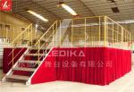 Boxing Match Aluminum Stage Platform Adjustable Disassemble Stable Staging Platform