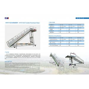 Durable Aircraft Passenger Stairs , Aviation Ground Support Equipment?