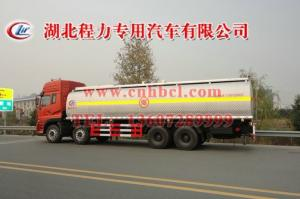 China Dongfeng Tianlong 8*4 25.2cbm aluminum alloy fuel/oil delivery truck(CLW5310GYY3) on sale