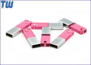 China 3D Logo Acrylic 1GB USB Memory Stick Pen Drive Colorful LED Light on sale