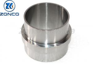 China Mirror Polished Cemented Tungsten Carbide Sleeve Stable Chemical Properties on sale