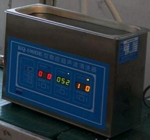 China 50W Small Digital Ultrasonic Cleaner Controlled By Computer For Laboratory And Clinic on sale