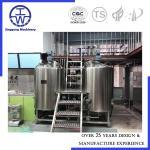 CE Certificate Micro Beer Equipment , Beer Manufacturing Equipment 3 Years Warranty