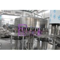 China PLC Control Water Production Line , 15000BPH Plastic Bottle Monoblock Filling Machine on sale