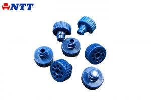 Quality Blue Color Medical Injection Molding Cold Runner Medical Equipment Spare Parts for sale