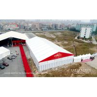 China 25x50m Aluminum Wedding Party Tent With ABS Hard Walls For 500 Guests on sale