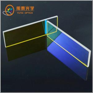 China Optical Bandpass/IR Cut/UV/Color Glass Filters For Optical Instruments on sale