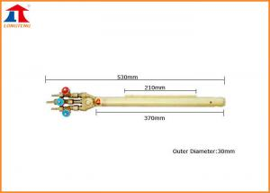 China Multi-head Flame Straight Strip Machine Oxy Acetylene Cutting Torch 370mm on sale