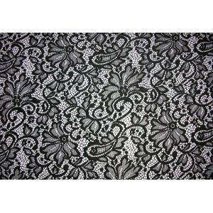 China Fashion design Quality S404 Textile Nylon Spandex Lace Dress Guipure Lace Fabric on sale