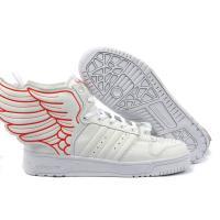 Adidas Originals white Jeremy Scott Supra Fashion Wings Shoes
