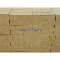 China High Alumina Refractory Fire Bricks For Ceramic Tunnel Kiln , Iron Making Furnaces Firebrick on sale