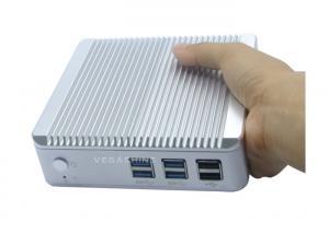 China Intel® Core™ i3-4010U fanless mini box pc Palm-size NUC computer 4K / Blue-ray resolution on sale
