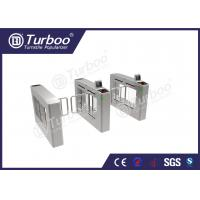 China Access Control System Pedestrian Barrier Gate , Stainless Steel Swing Gate on sale