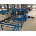 A fatura da bandeja de cabo da escada da calha de aço lamina a formação de m da máquina 10 - 12/minuto