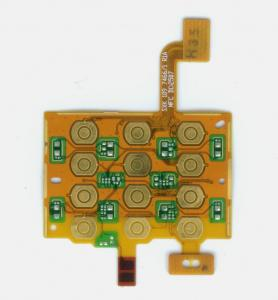 China Yellow Double Sided 2 oz Copper PCB Rigid Flex Circuit Board Fabrication on sale