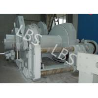 China Low Noise Operation Marine Hydraulic Winch Double Drum Winch on sale