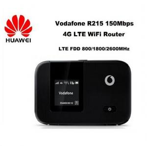 China Unlock Vodafone LTE FDD wireless router 150Mbps Vodafone R215 4G LTE Mobile WiFi Router on sale