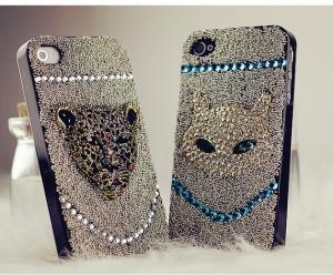 China mobile phone case for luxary crystal diamond cover leather case on sale